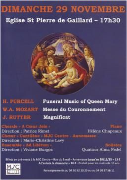 PURCELL-MOZART-RUTTER